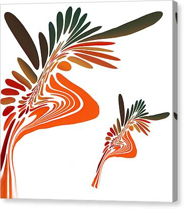 Freedom Abstract Canvas Print by Art Spectrum