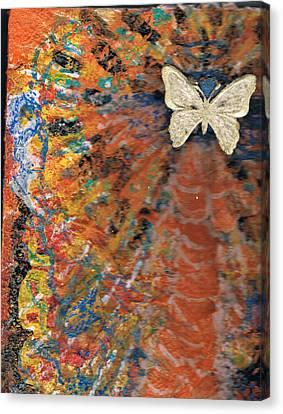 Freedom And Joy Canvas Print by Anne-Elizabeth Whiteway
