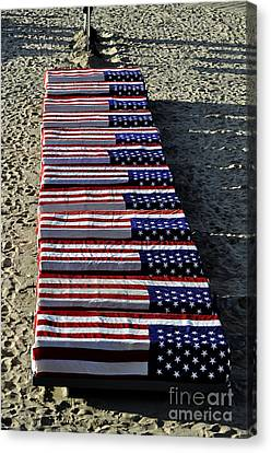 Freedom Costs Canvas Print by Clayton Bruster