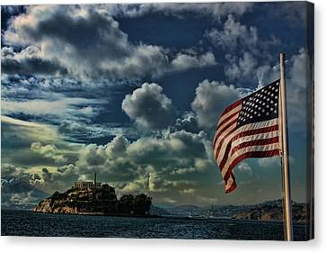 Alcatraz Canvas Print - Freedom by Douglas Barnard