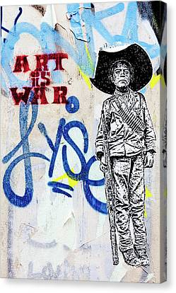 Canvas Print featuring the photograph Freedom Fighter by Art Block Collections