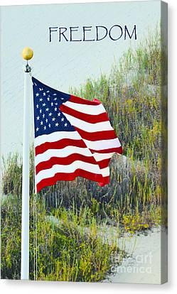 Freedom Canvas Print by Gerlinde Keating - Galleria GK Keating Associates Inc