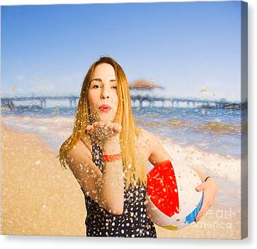 Freedom In Summer Vacation  Canvas Print by Jorgo Photography - Wall Art Gallery