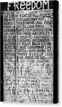 Freedom Canvas Print by James Aiken