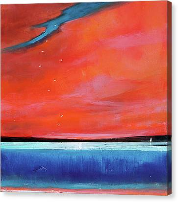 Surreal Landscape Canvas Print - Freedom Journey by Toni Grote