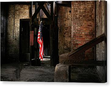 Freedom Canvas Print by Kyle Findley