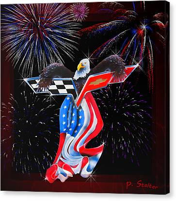 Freedom Canvas Print by Patricia Stalter
