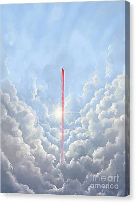 Freedom - Special Edition Canvas Print by Vincent Carrozza