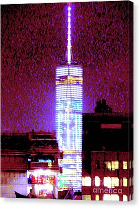 Freedom Tower 41 Canvas Print by Ken Lerner