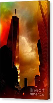 Freedom Tower Late Afternoon Canvas Print