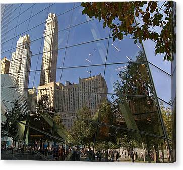 Ground Zero Reflection Canvas Print