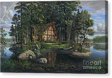 Freedom's Promise Canvas Print by Kim Norlien
