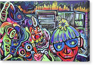 Freestylepainting Canvas Print by Ottoniel Lima