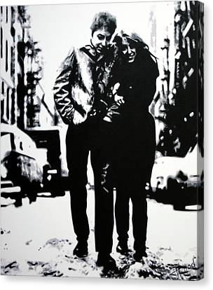 Freewheelin Canvas Print