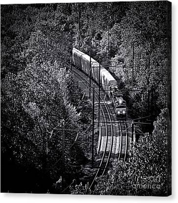 Freighting Away Canvas Print by Olivier Le Queinec