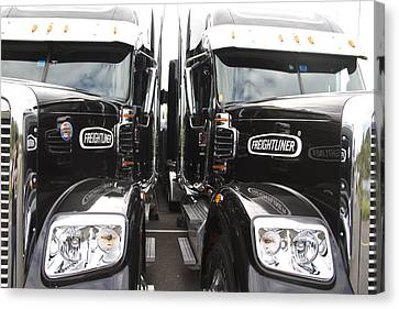 Freightliner Canvas Print by Alice Gipson