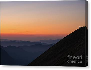 Fremont Lookout Sunset Layers Vision Canvas Print by Mike Reid