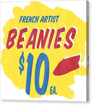 French Artist Beanies Canvas Print