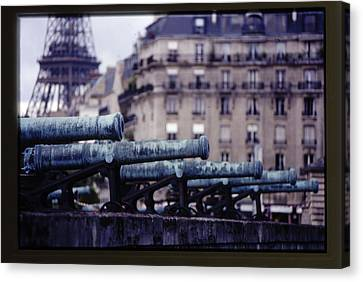 French Canons Canvas Print by Don Wolf