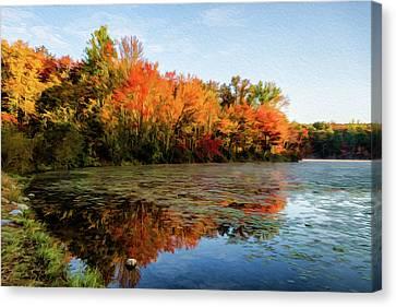 French Creek 15-025 Canvas Print by Scott McAllister