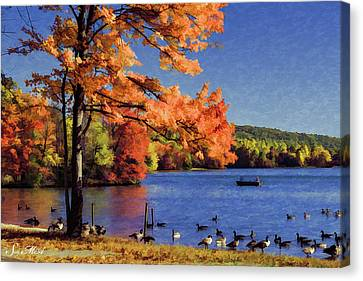 French Creek 2066 Canvas Print