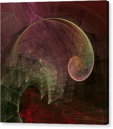 French Curve Canvas Print