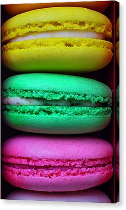 French Macaroons Canvas Print by Garry Gay