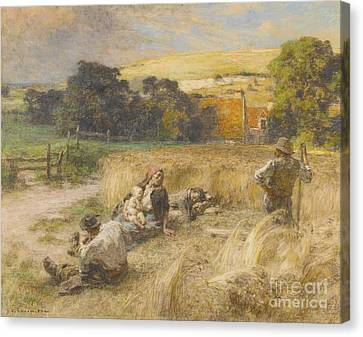 French Moisson Canvas Print