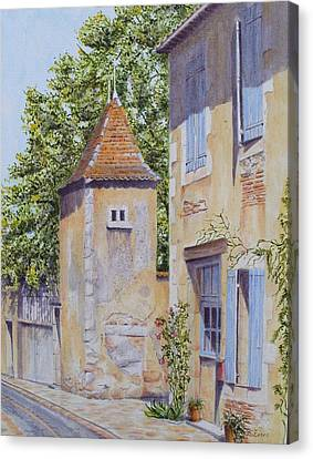 French Pigeonnier Canvas Print by Frances Evans