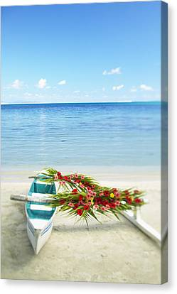 French Polynesia, Huahine Canvas Print by Kyle Rothenborg - Printscapes