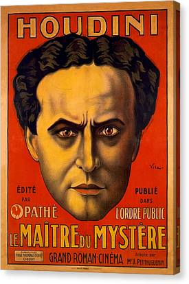 French Poster Advertising Harry Canvas Print by Everett