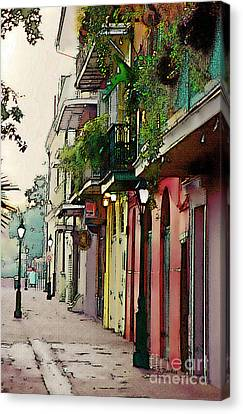 French Quarter New Orleans Canvas Print by Linda  Parker