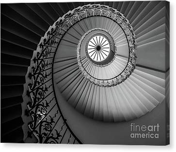 French Spiral Staircase 1 Canvas Print by Lexa Harpell