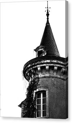 French Turret Canvas Print