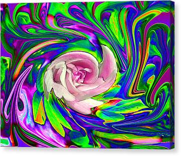 French Wild Rose Canvas Print by Rose Guay