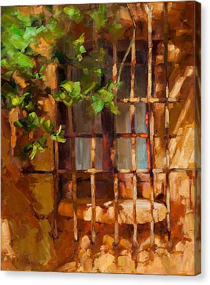 French Window Canvas Print by Becky Joy