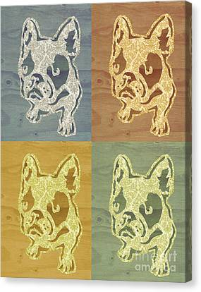 Frenchies Canvas Print