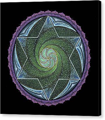 Frequency Harmonizer Canvas Print