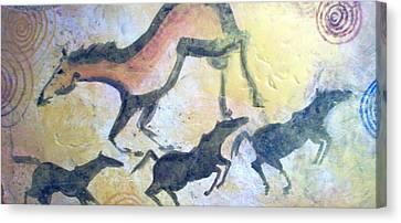 Fresco Canvas Print