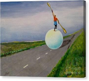 Fresh Air Canvas Print by Ushangi Kumelashvili