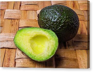 Fresh Avocado Canvas Print by Garry Gay