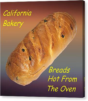 Fresh Baked Bread Customized  Canvas Print by Movie Poster Prints