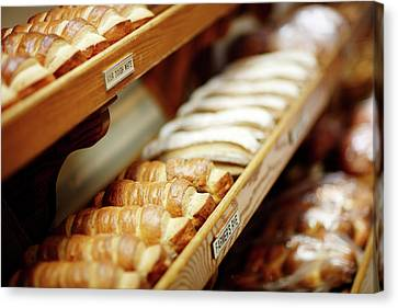 Fresh Bread Canvas Print by Todd Klassy