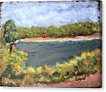 Fresh Creek Canvas Print