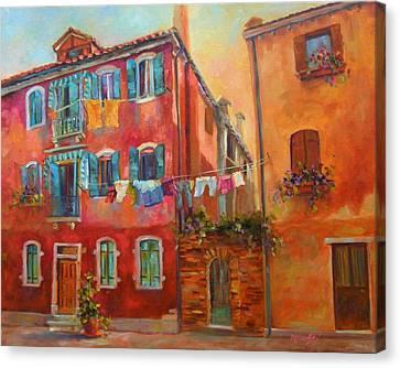 Fresh Linen Canvas Print by Chris Brandley