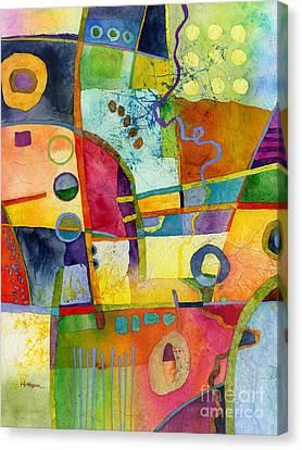 Fresh Paint Canvas Print by Hailey E Herrera