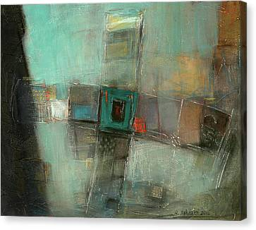 Fresh Pattern Canvas Print by Behzad Sohrabi