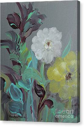 Canvas Print featuring the painting Fresh Start  by Robin Maria Pedrero