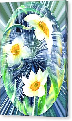 Freshness Of Spring Dew Canvas Print by Inna Nedzelskaia