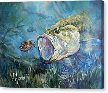 Freshwater Canvas Print by Tom Dauria